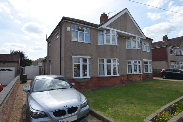 Thumbnail Semi-detached house for sale in Montrose Avenue, Sidcup