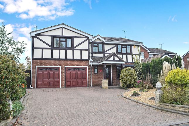 Thumbnail Detached house to rent in Heron Way, Derby, Derbyshire