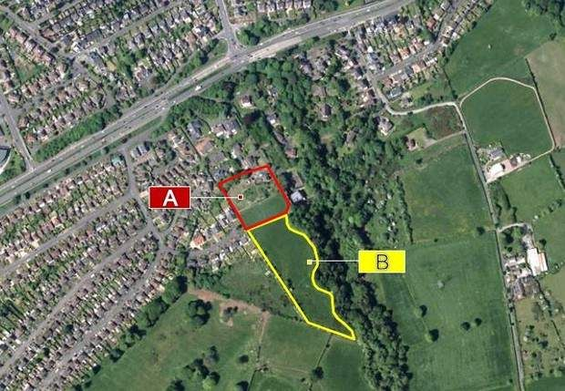 Thumbnail Land for sale in Upper Knockbreda Road, Belfast, County Antrim
