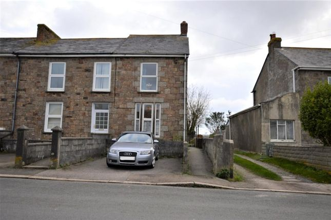 Thumbnail End terrace house for sale in Fore Street, Beacon, Camborne, Cornwall