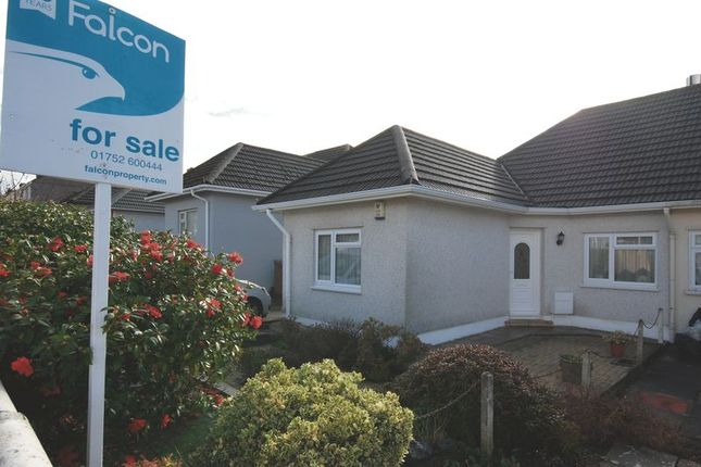 Thumbnail Semi-detached bungalow for sale in Seymour Road, Plympton, Plymouth