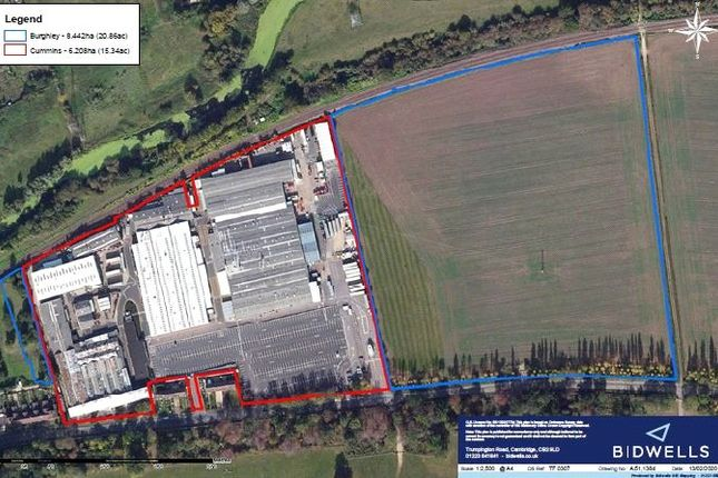 Thumbnail Land for sale in St Martin's Park, Stamford, Lincolnshire