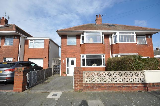 3 bed semi-detached house for sale in Cheddar Avenue, Blackpool, Lancashire