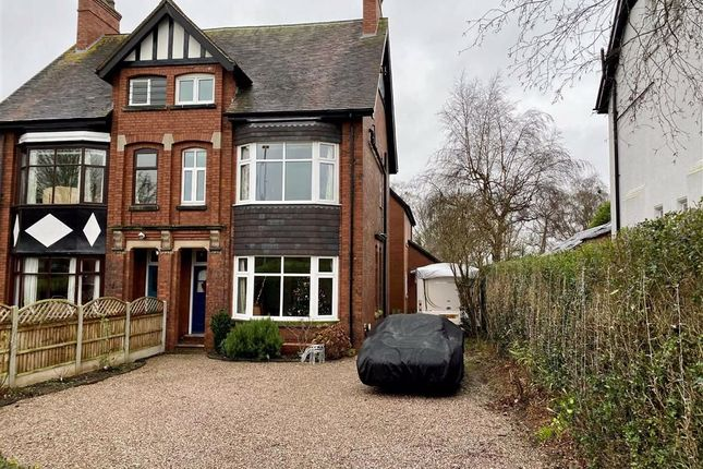 Thumbnail Semi-detached house for sale in Oulton Road, Stone