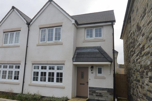 Thumbnail Semi-detached house for sale in Kevill Road, Pool, Redruth