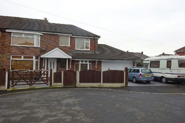 Thumbnail Semi-detached house for sale in Humphrey Park, Urmston, Manchester