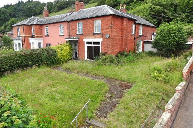 Thumbnail End terrace house for sale in The Fron, Fron Lane, Newtown, Powys