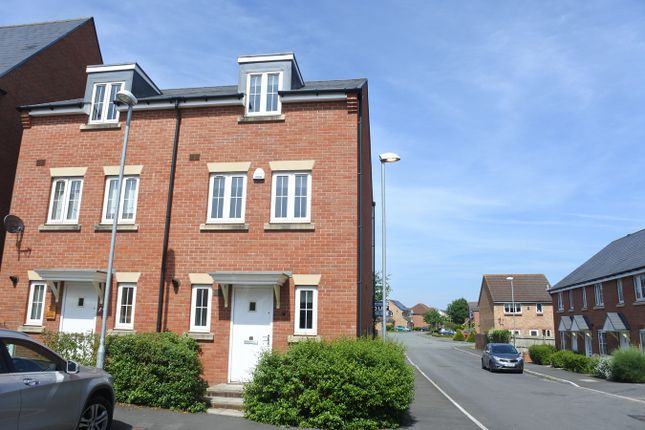 Thumbnail Town house to rent in Seymour Way, Magor, Caldicot