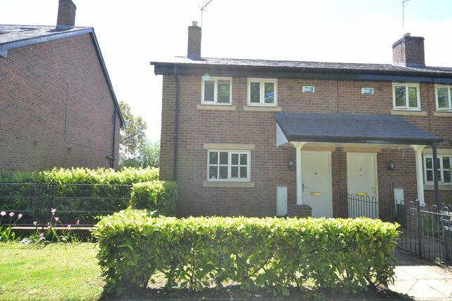 Thumbnail End terrace house to rent in Station Road, Styal, Wilmslow