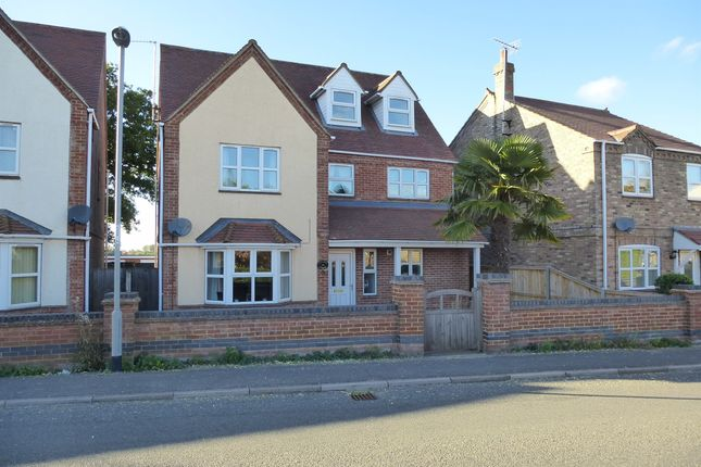 Thumbnail Detached house for sale in High Road, Elm, Wisbech
