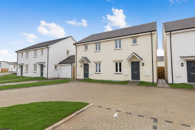 Thumbnail Semi-detached house for sale in Chivilas Road, Camborne, Cornwall