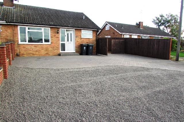 Thumbnail Semi-detached bungalow for sale in Shelley Drive, Higham Ferrers, Rushden