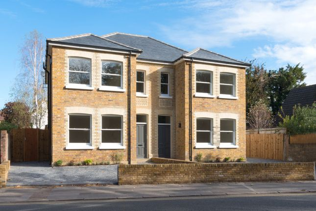 Thumbnail Semi-detached house for sale in Russell Road, Shepperton