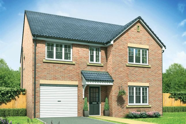 "Thumbnail Detached house for sale in ""The Harley"" at Lon Yr Ardd, Coity, Bridgend"