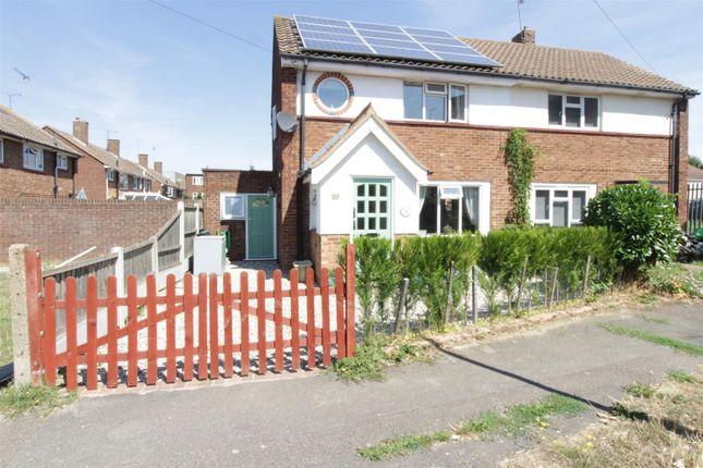 Thumbnail Semi-detached house for sale in Hatley Gardens, Benfleet