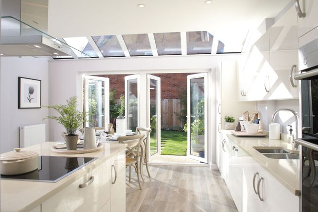 """Thumbnail Detached house for sale in """"The Thornsett"""" at Winchester Road, Fair Oak, Eastleigh"""