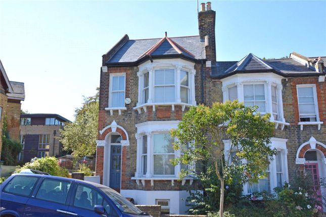 Thumbnail End terrace house to rent in Halstow Road, Greenwich, London