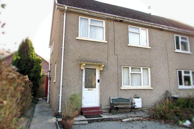 Thumbnail Semi-detached house for sale in Brodawel, Pont Nedd Fechan, Neath, Neath Port Talbot.