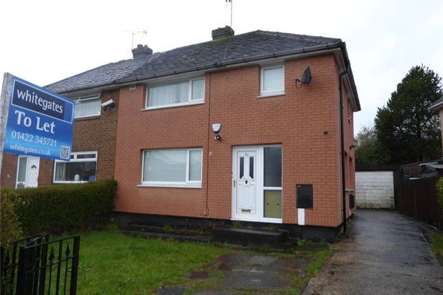 Thumbnail Semi-detached house to rent in Woodbrook Avenue, Mixenden, Halifax
