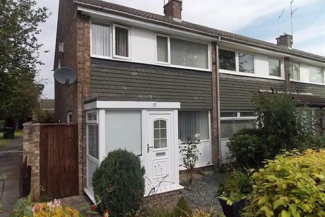Thumbnail End terrace house to rent in Cowdray Court, Kingston Park, Newcastle Upon Tyne