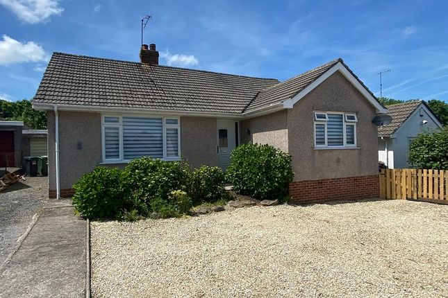 Thumbnail Detached bungalow for sale in Littlefields Road, Banwell, North Somerset.