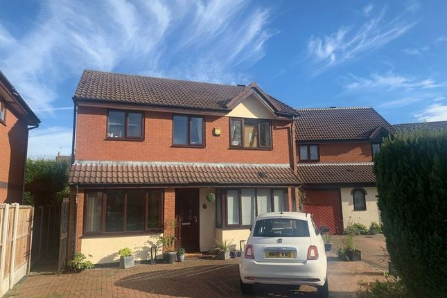 Thumbnail Detached house to rent in Guernsey Close, Congleton