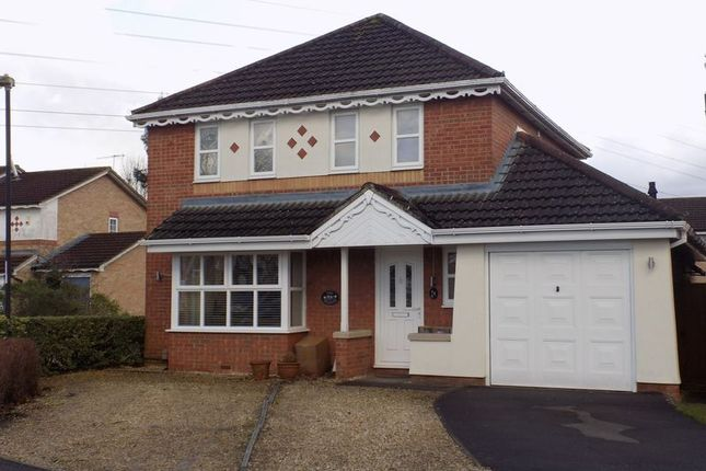 Thumbnail Detached house for sale in Bicton Road, Swindon