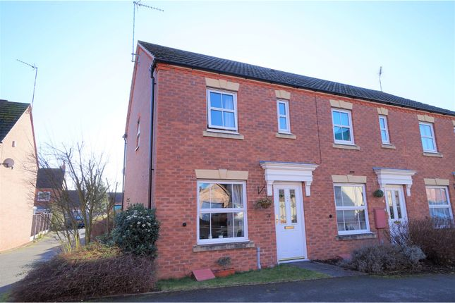 Thumbnail End terrace house for sale in Pasture Way, Warwick