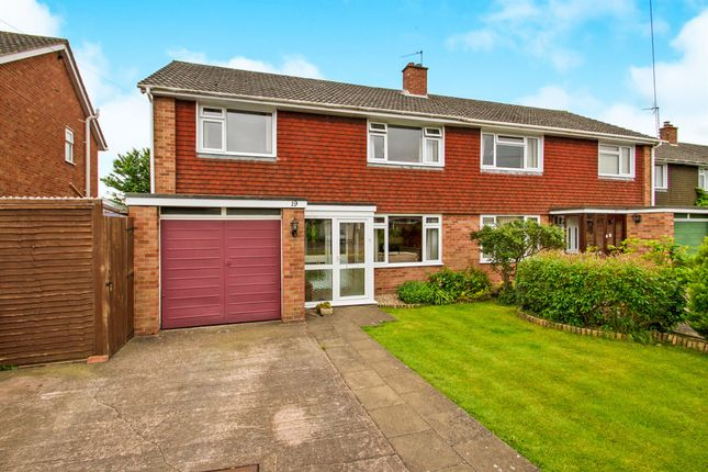 Thumbnail Semi-detached house for sale in Newlands Road, Ruishton, Taunton
