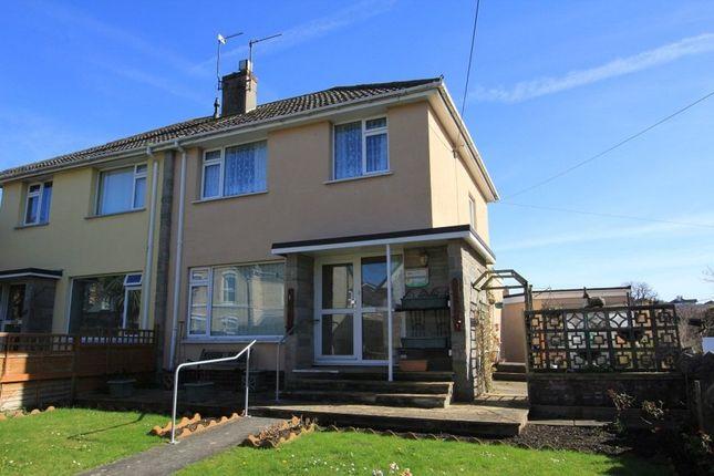 Thumbnail Semi-detached house for sale in Gestridge Road, Kingsteignton, Newton Abbot