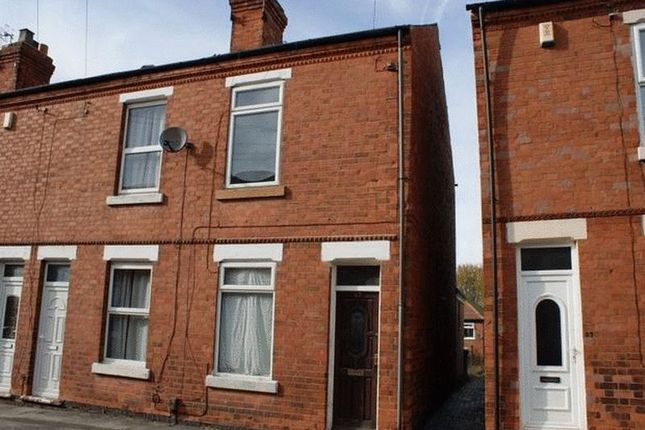 Thumbnail Terraced house to rent in Bancroft Street, Bulwell, Nottingham