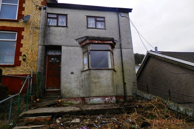 Front Elevation of Thomas Street, Tonypandy, Rhondda, Cynon, Taff. CF40