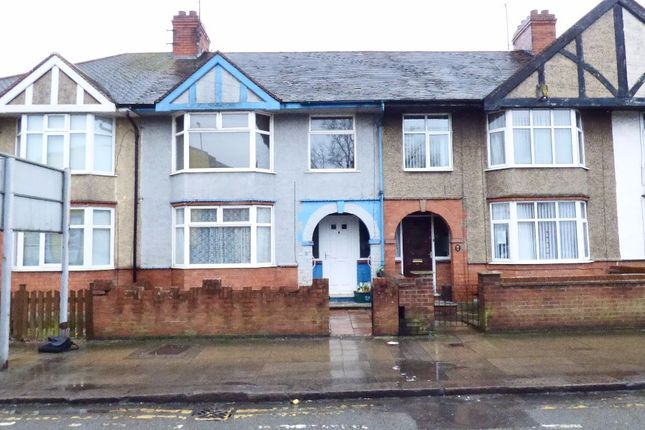 Thumbnail Terraced house for sale in Towcester Road, Northampton