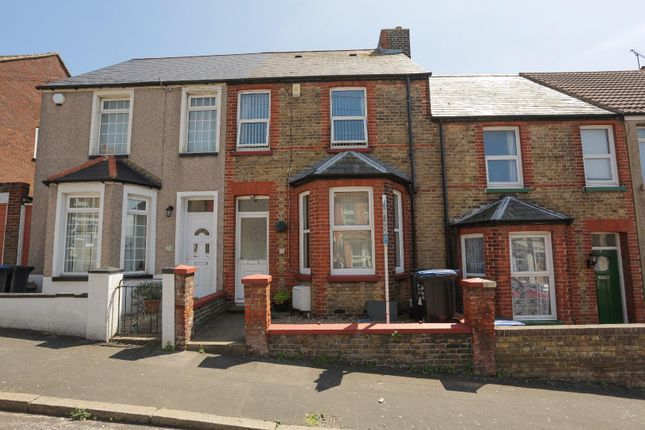 Thumbnail Terraced house for sale in Hengist Avenue, Margate