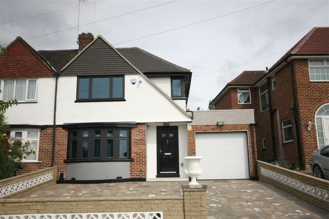 Thumbnail Semi-detached house for sale in Alverstone Road, Wembley, Greater London