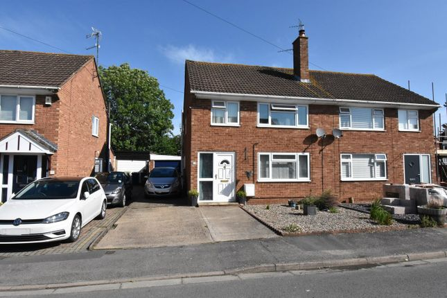 Thumbnail Semi-detached house for sale in Walton Close, Tewkesbury