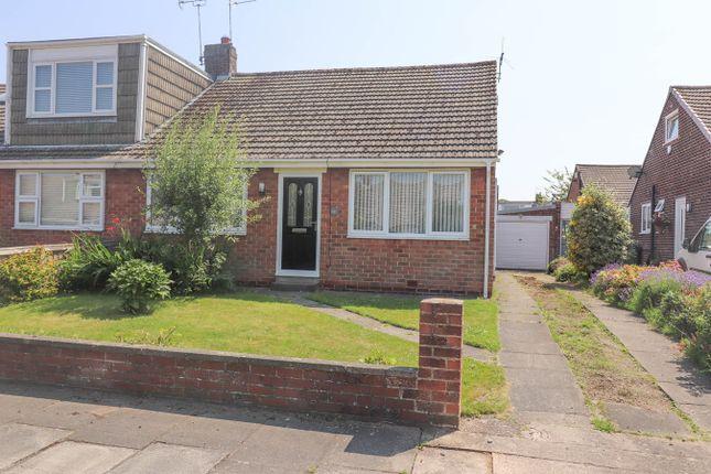 Thumbnail Semi-detached bungalow for sale in Beaumaris Gardens, East Herrington, Sunderland