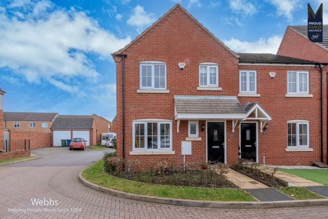3 bed semi-detached house for sale in Caversham Mews, Cannock WS11
