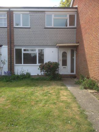 Thumbnail Terraced house to rent in Micklam Close, Rose Green Bognor Regis