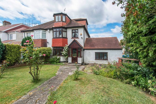 Thumbnail Semi-detached house for sale in Boundary Road, Carshalton