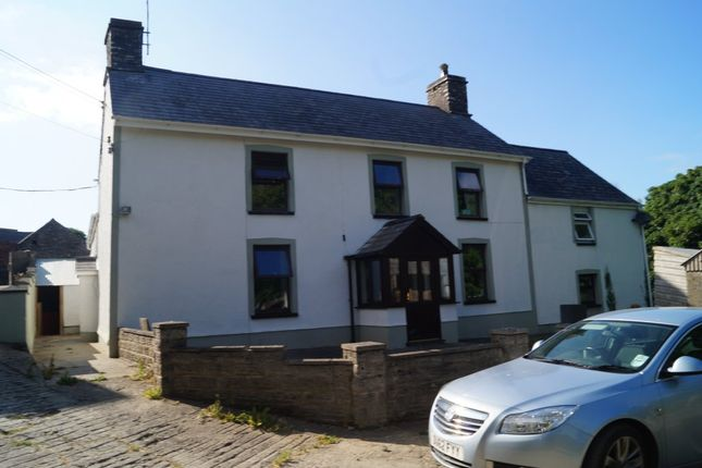 Thumbnail Farmhouse for sale in Eglwyswrw, Crymych, Pembrokeshire