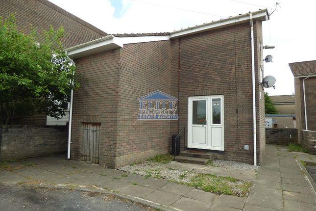 Thumbnail Flat for sale in Wigan Terrace, Bryncethin, Bridgend.