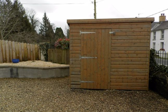 Timber Shed of Velindre, Llandysul SA44