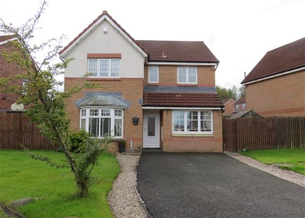 Thumbnail Detached house for sale in Lammermuir Way, Chapelhall, Airdrie ML6, Airdrie,