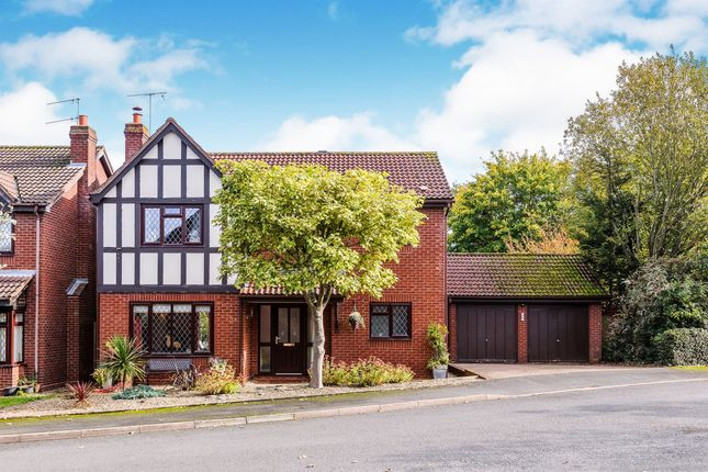 Thumbnail Detached house for sale in Snowberry Avenue, Home Meadow, Worcester