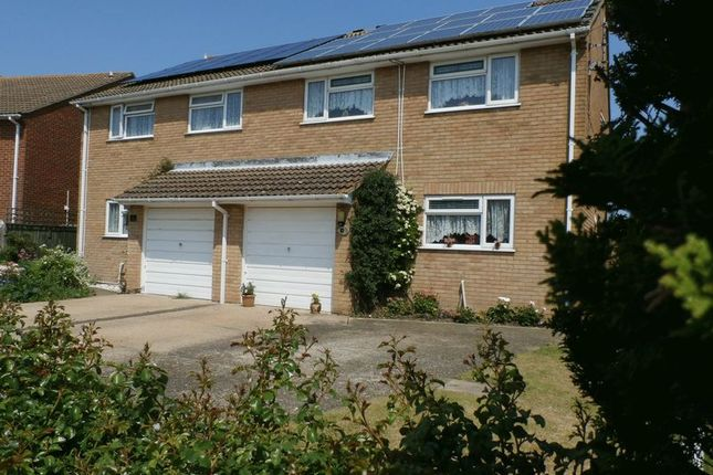 Thumbnail Semi-detached house for sale in Playing Fields, Poulders Gardens, Sandwich