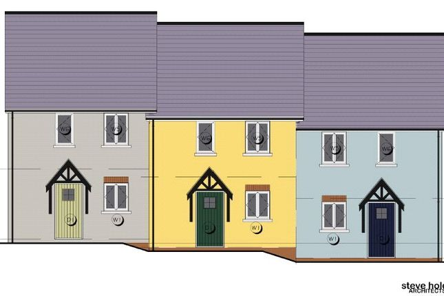 Thumbnail End terrace house for sale in Maes Yr Orsaf (The Wiston), Plot 2, Station Road, Narberth