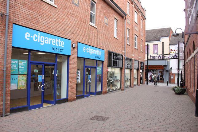 Retail premises to let in Weavers Wharf, Kidderminster