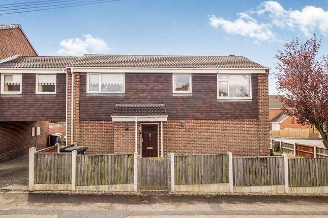 Thumbnail Semi-detached house for sale in Hackworth Close, Newthorpe, Nottingham