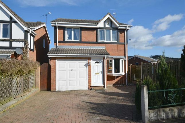 Thumbnail Detached house for sale in Longcroft Close, New Tupton, Chesterfield, Derbyshire